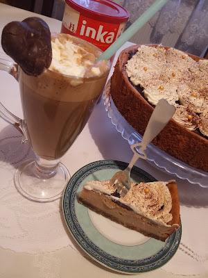 Piernikowa Inka z kawowym sernikiem