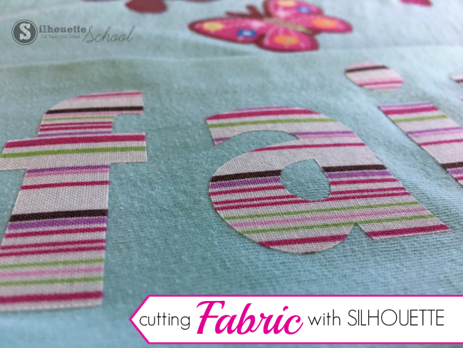 cut fabric silhouette cameo tutorial, cutting fabric silhouette portrait