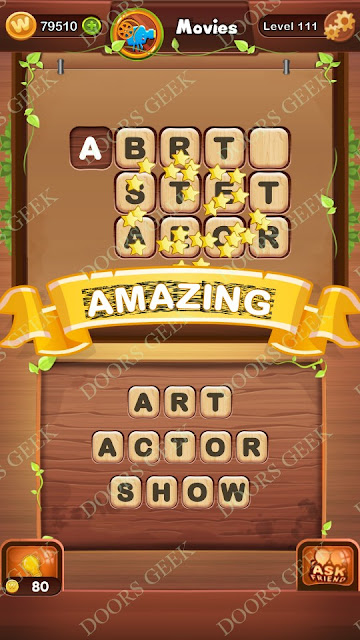 Word Bright Level 111 Answers, Cheats, Solutions, Walkthrough for android, iphone, ipad and ipod