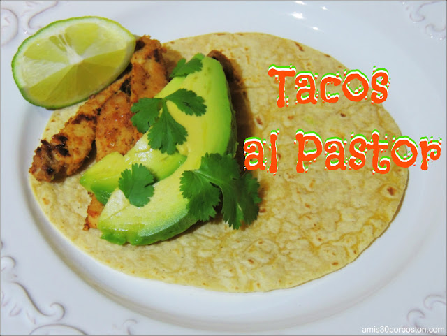 Receta de Tacos de Cerdo al Pastor
