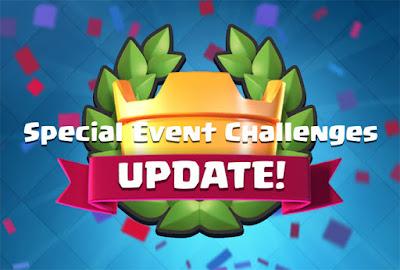 Semua Informasi Special Event Challenges di Clash Royale