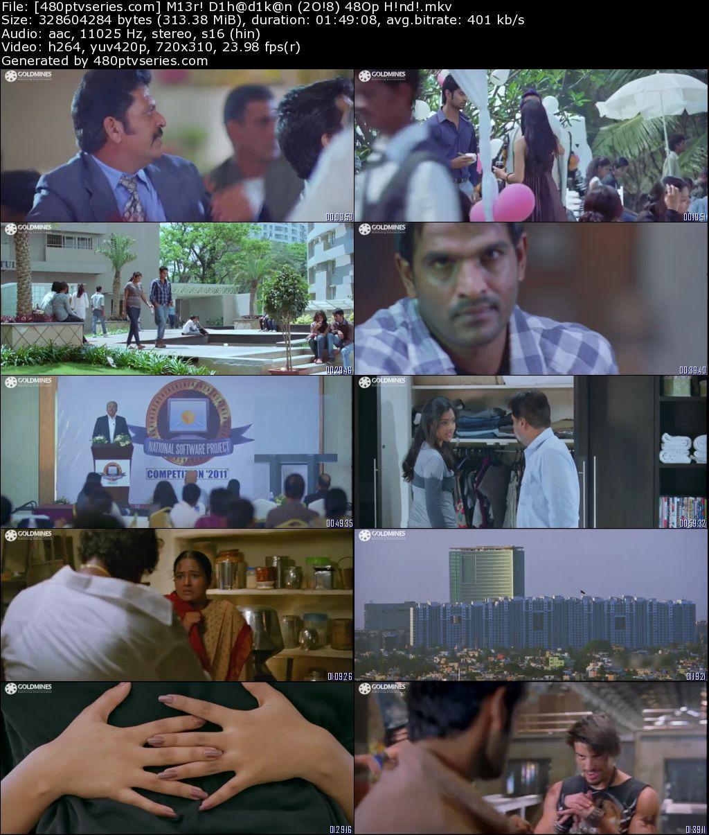 Meri Dhadkan (2018) 300MB Full Hindi Dubbed Movie Download 480p HDRip Free Watch Online Full Movie Download Worldfree4u 9xmovies