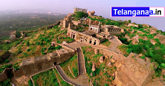 Golconda Fort in Telangana