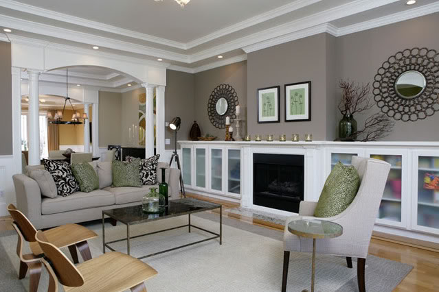 Maison newton inspiration to the rescue - Grey living room walls ...