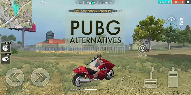 Top 5 Games like PUBG Mobile. PUBG Alternative games.