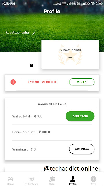 Fanfight App Referral Code Get Rs 100 on Signup and Rs 100/Refer | Earn Real Cash by Fanfight Ap