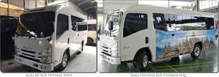 Isuzu ELF NLR Microbus