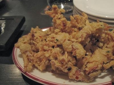 Bomba Paella Bar, baby squids