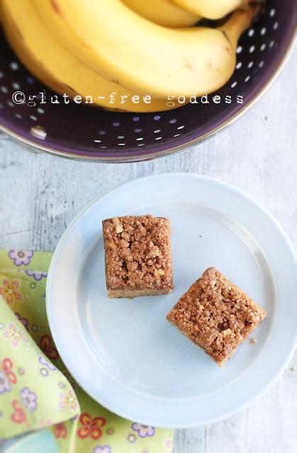 Gluten-Free Banana Crumb Cake