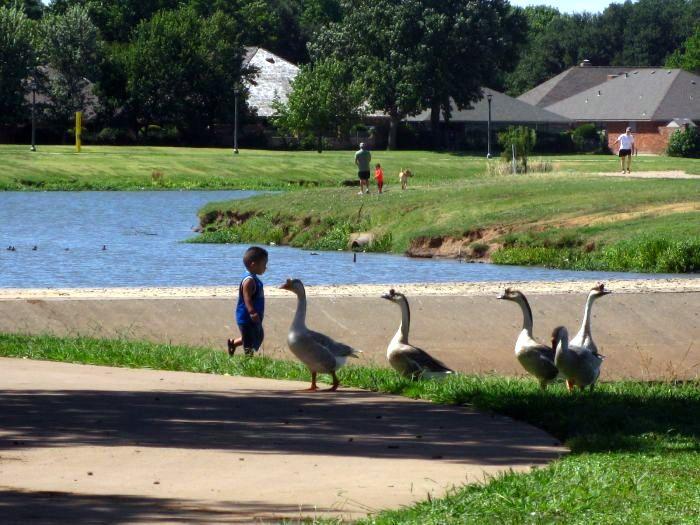Durango Texas Wichita Falls Saltwater Swim Before Sikes Lake Geese Barbecued Chicken