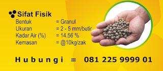 pupuk organik padat pop supernasa granule modern