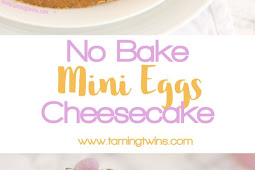No Bake Easter Mini Egg Cheesecake Recipe