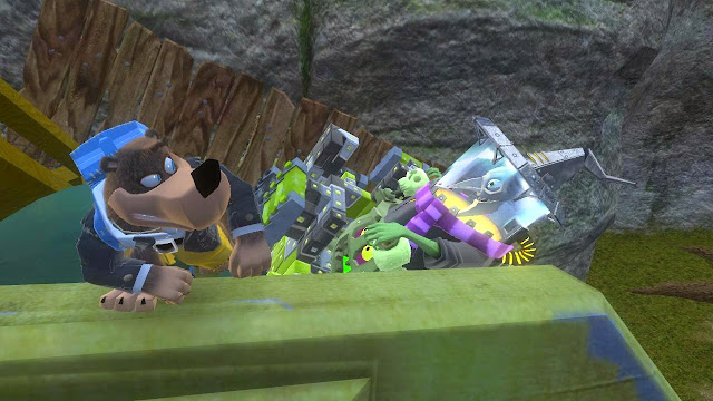 Banjo Kazooie Nuts and Bolts Gruntilda RawkHawk2010