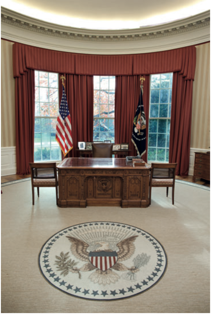 From fdr to trump how the oval office decor has changed Oval office decor by president