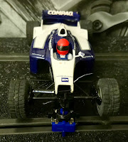 Frontal del Williams FW23 Compaq Hornby Superslot
