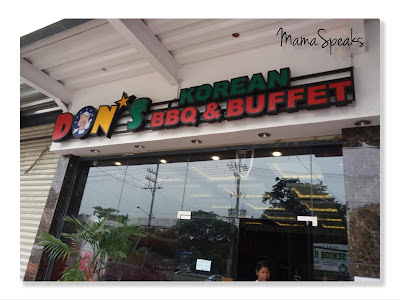 Going Korean at the Don's Korean BBQ and Buffet Taytay