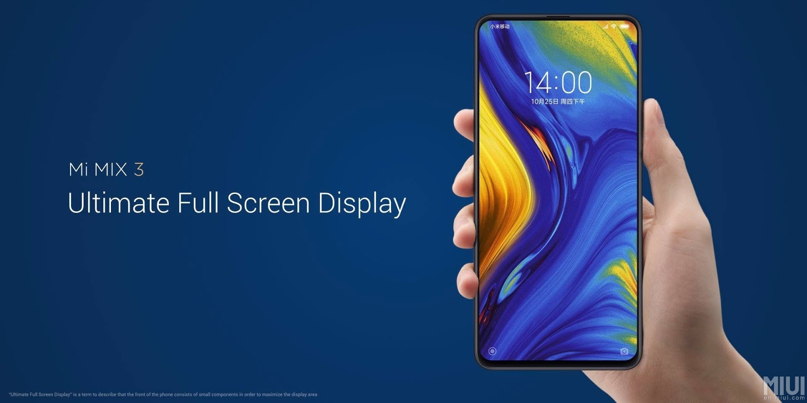 The Xiaomi Mi Mix 3 is officially announced with four cameras and a 6.4-inch screen