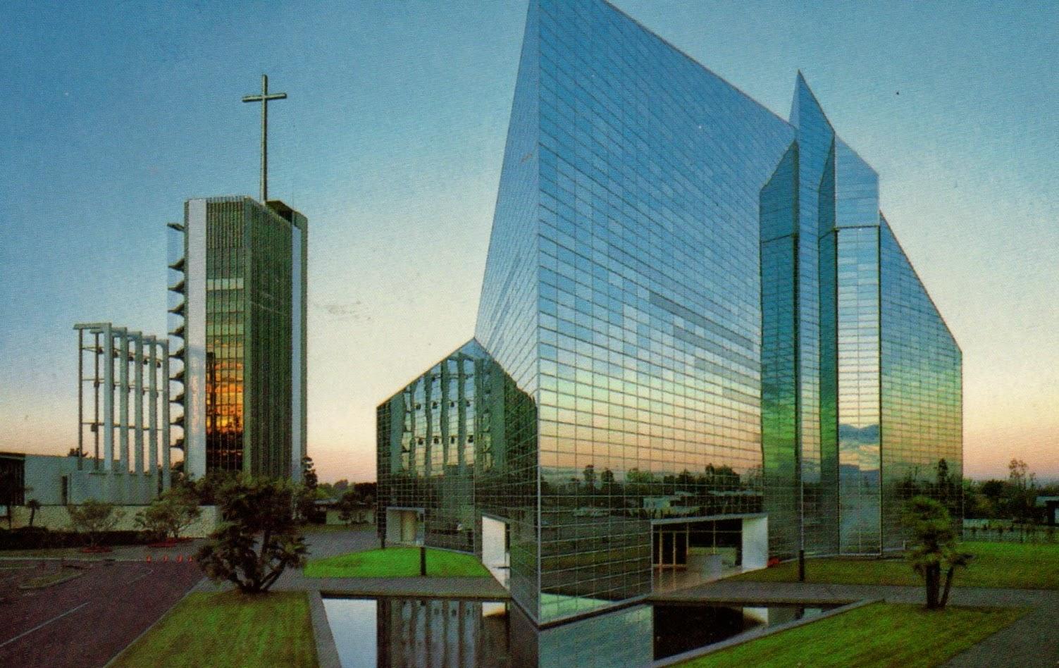 catedral de cristal em Los Angeles