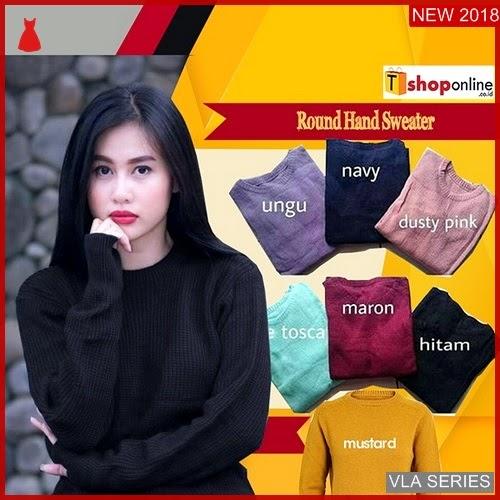 VLA215R86 Model Hand Round Sweater Murah BMGShop