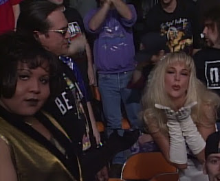 WCW NWO Souled Out 1997 Review - Debra McMichael watched Jeff Jarrett from the crowd