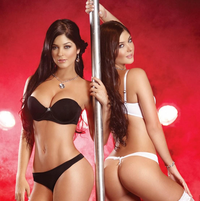 Sexy twin girls