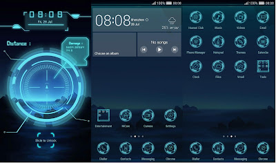 Hologram Theme For EMUI