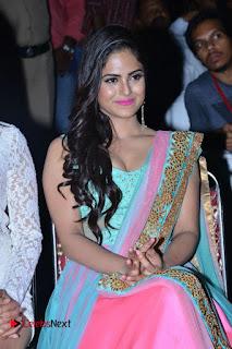 Actress Naina Ganguly Stills in Long Dress at Vangaveeti Audio Launch  0085.JPG