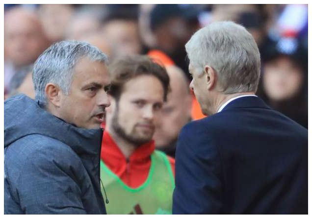 """Comedy Video: Wenger to Mourinho: """"Who's the specialist in failure now?"""
