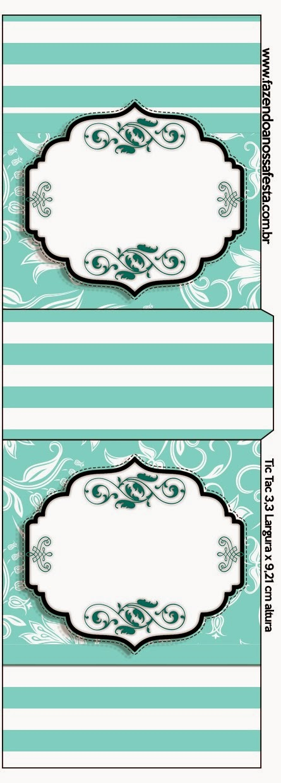 Fiesta Tiffany: Etiquetas para Candy Bar para Imprimir Gratis ...