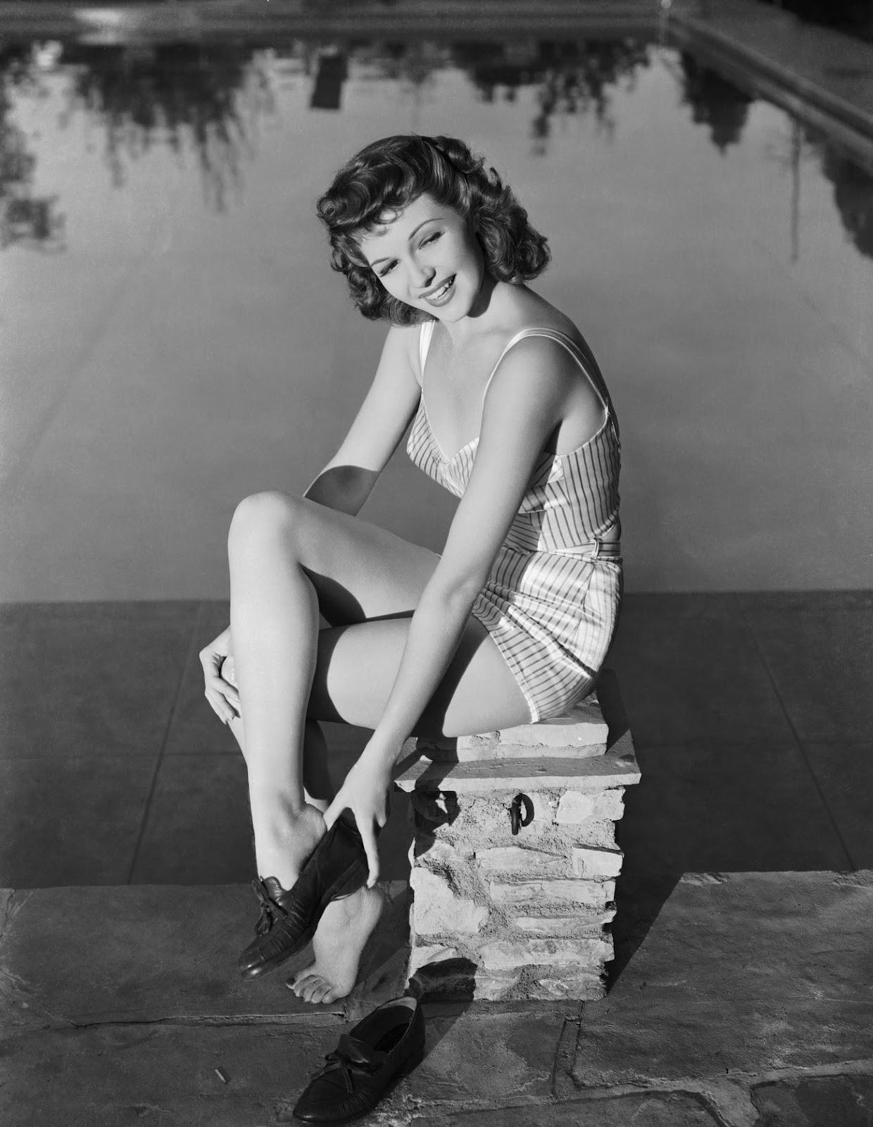 Rita Hayworth's Feet  |Rita Hayworth Feet