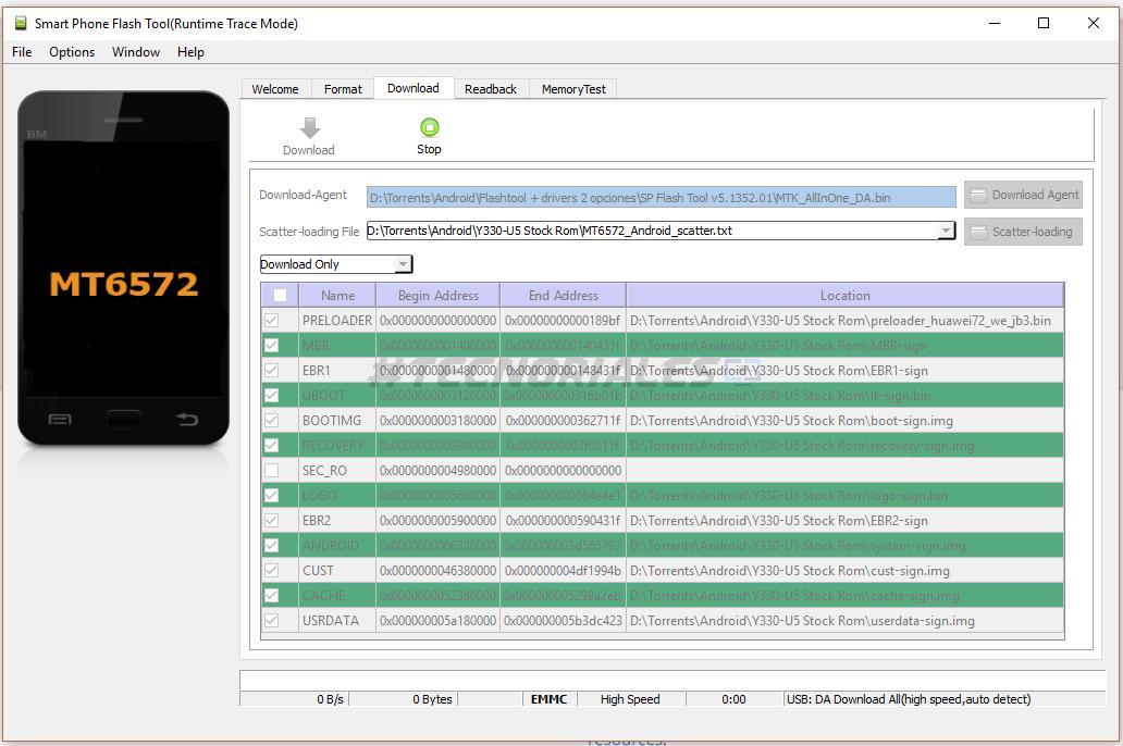Upgrade Huawei Y330 To Lollipop