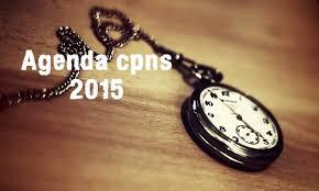 Agenda CPNS Tahun 2015