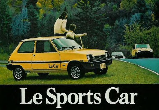 "The Renault ""Le Car"":"