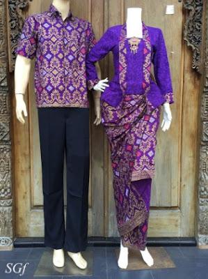 Desain cantik model rok batik span