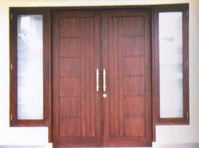 Kumpulan Gambar Model Pintu Minimalis Buka dua Terbaru
