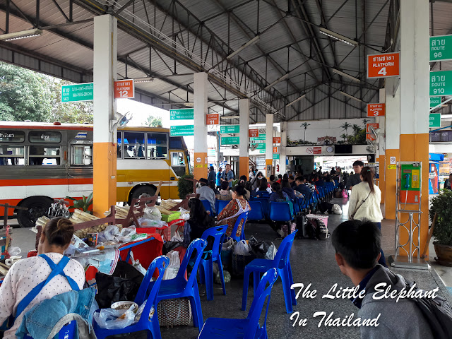 Bus station Nan, Thailand