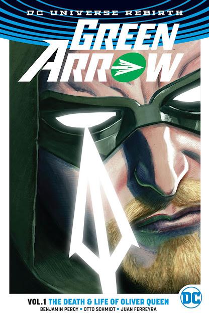 green arrow dc rebirth comics
