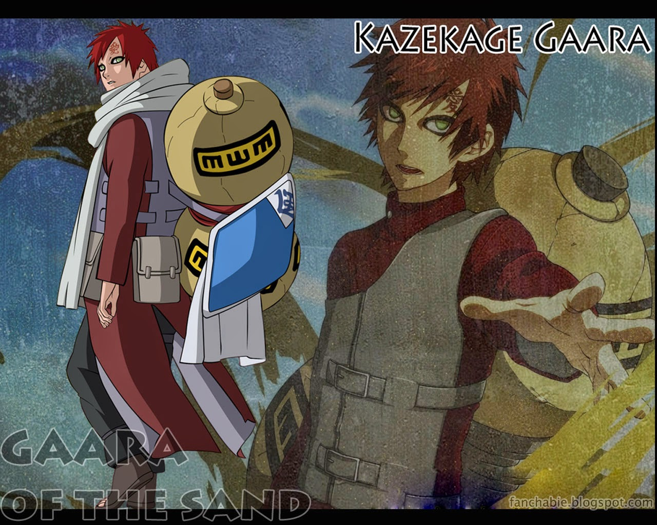 Free wallpapers Gaara