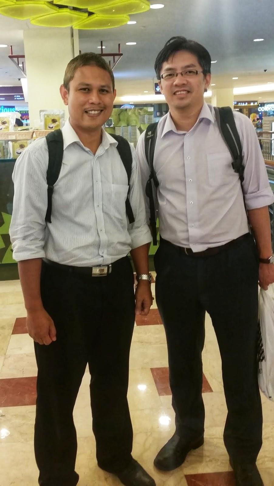 Bersama PM Dr Tang Tong Boon