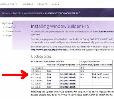 Windowbuilder link