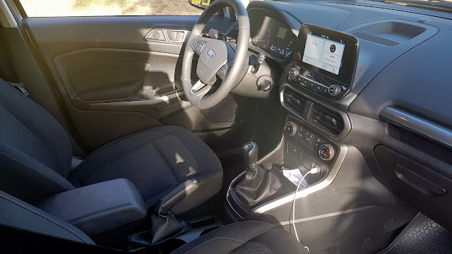 Ford EcoSport 1.5 2018 - interior