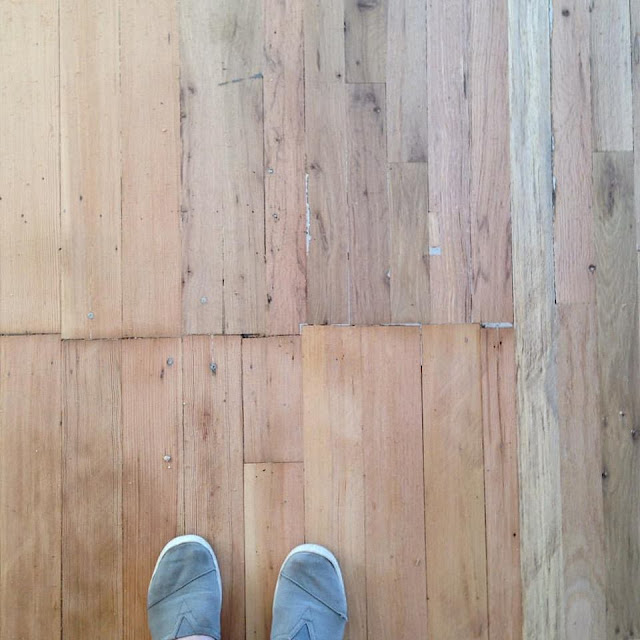 Vintage Floors - oak and fir - restoring old floors
