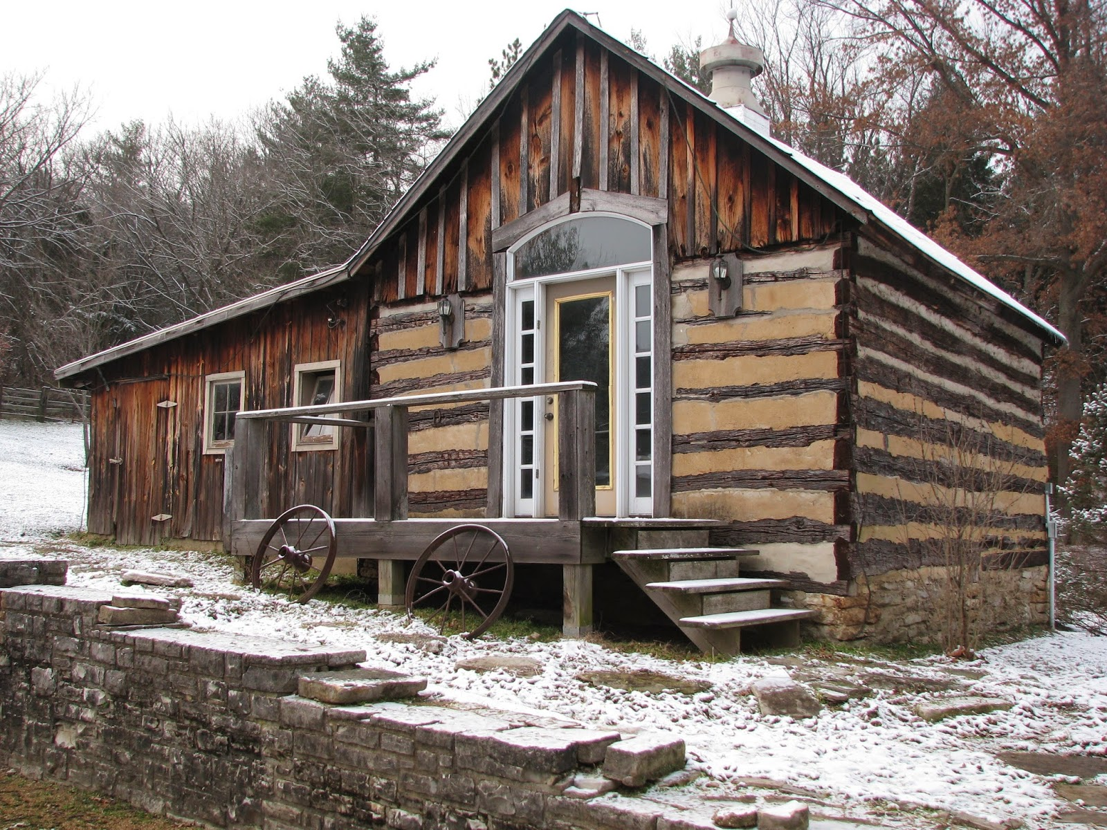Old and Ridiculous This Old Log Cabin