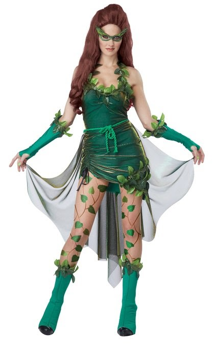 2f7f66b80ec477 Costume Ideas for Women: How to Cosplay as Poison Ivy (DC Comics ...