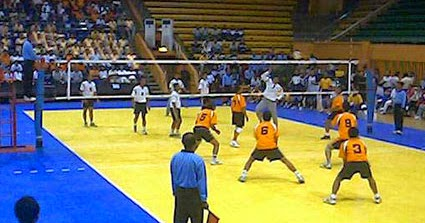 Volleyball Players Position