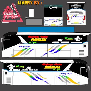 Download Livery Es Bus Id PO. DEDY JAYA SR-2 HD PRIME