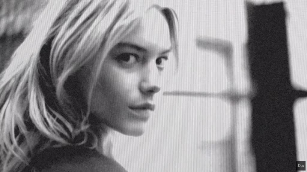 Modella Dior Pubblicità profumo Poison con Foto - Testimonial Spot Pubblicitario Dior 2016