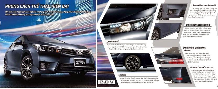 toyota altis 2015 toyota tan cang 14 - Toyota Corolla Altis 2014 - 2015: Đột phá ấn tượng - Muaxegiatot.vn
