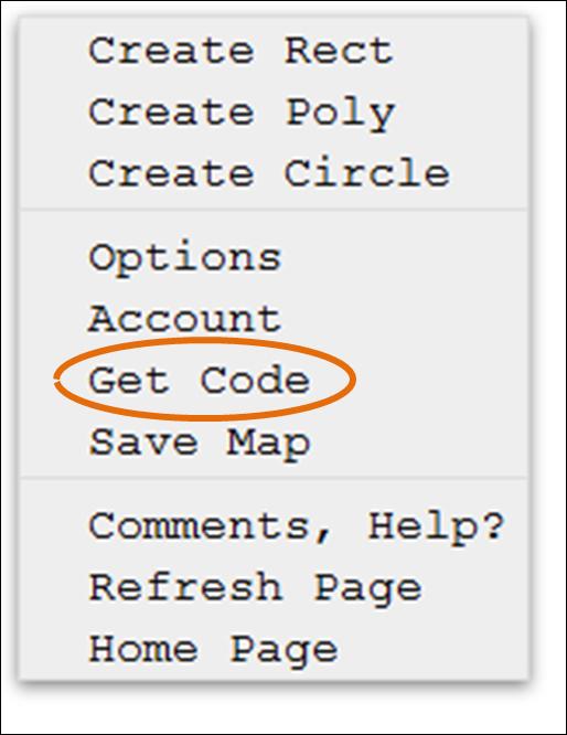 Código para mapear