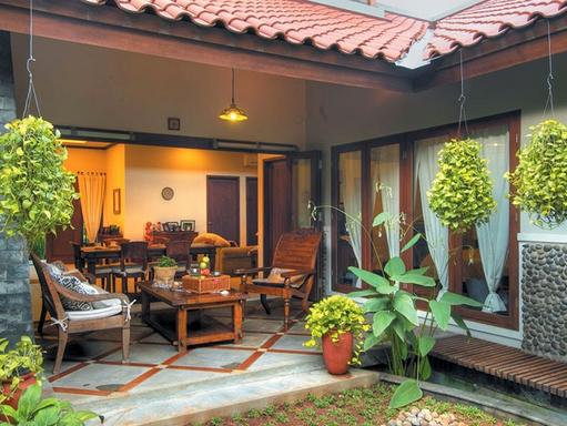 Contoh Desain Interior Dapur Outdoor 100 Rumah Minimalis